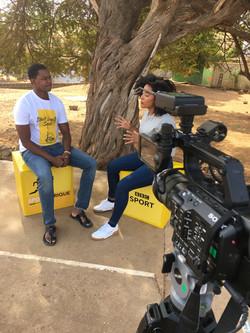 BBC Sport Africa Interview