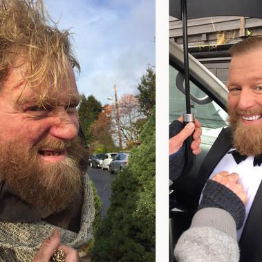 """Typisk deg med Petter Schjerven""- TV Show at TV Norge • False teeth,makeup& hair (Season 4, episode 6)"