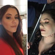 Kurt Josef Wagle og mordmysteriet på Hurtigruta- Feature Film Directed by Tommy Wirkola • Makeup designer • Picture - Makeup & neck scars on Marion Ravn