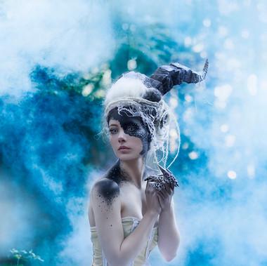 12 Creatures of the Zodiac - Capricorn • Personal Project by Ida Astero Welle • Photographer: Susann Daljord • Model: Annette Lunde https://vimeo.com/138712873