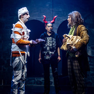 """Monsterunger"" - Nordland Theatre • Makeup & wig designer"