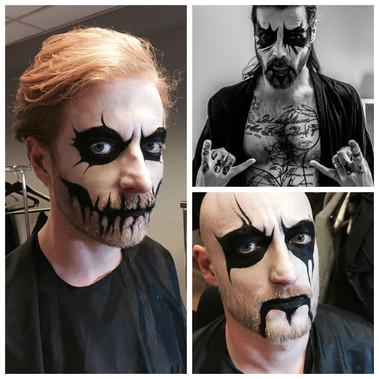Biffy Clyro  • Halloween Stage Makeup Oslo 31.10.2016