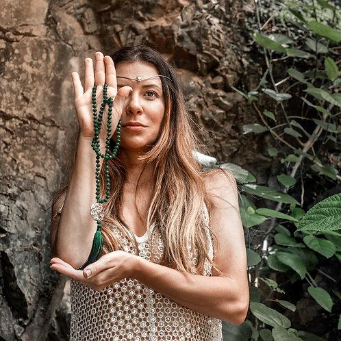 Japamala 5º Raio Cósmico - Verde