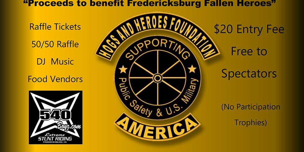 1st Annual Hogs and Heroes Foundation VA-1 Car & Bike Show