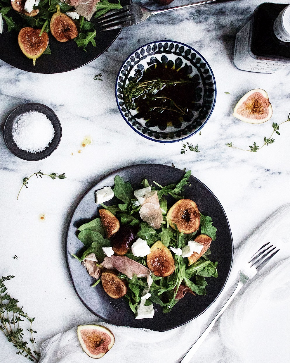 marinated fig salad