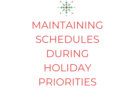 Working From Home During The Holidays – Maintaining Focus & Productivity