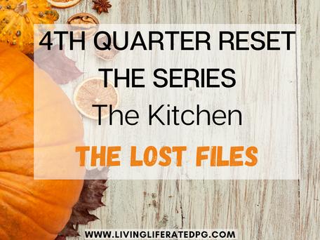 4th Quarter Refresh - The Kitchen (The Lost Files)