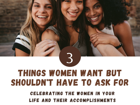 4th Quarter Reset -What Do Women Want?