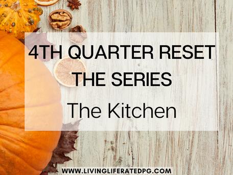 4th Quarter Refresh Series -- The Kitchen! (UPDATE)