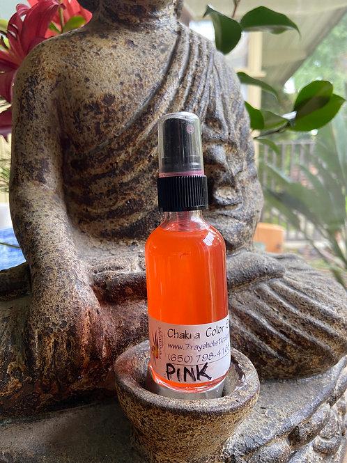 Pink Chakra Spray