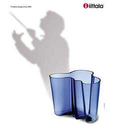 iittala print campaign for Teatro alla Scala magazine