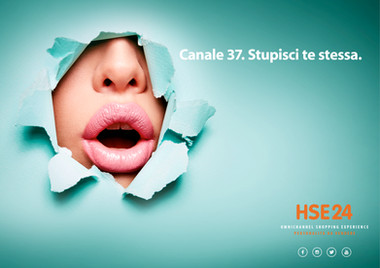HSE24 Campagna Affissioni Roma