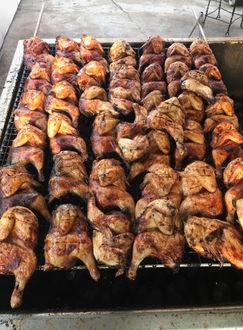 Full Rack of Chickens