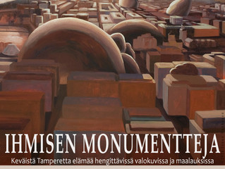 Ihmisen monumentteja - näyttely 2014-15