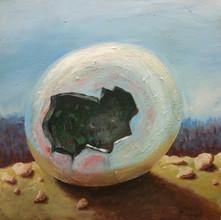 Bubble Bobble  2016, 60 x 60cm, acryl on canvas  (In private collection   yksityiskokoelmassa)