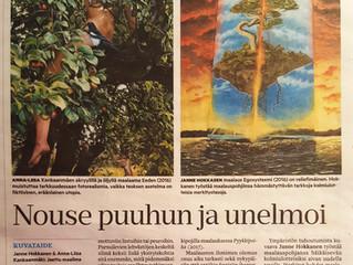 Jaettu maailma näyttely Tampereen Mältinrannassa