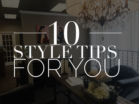 10 Quick Style Tips