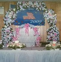 Silk Flower Arch Rental NYC