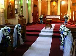 New York Church decor rental
