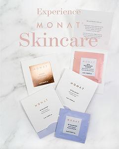 Monat Skincare Samples