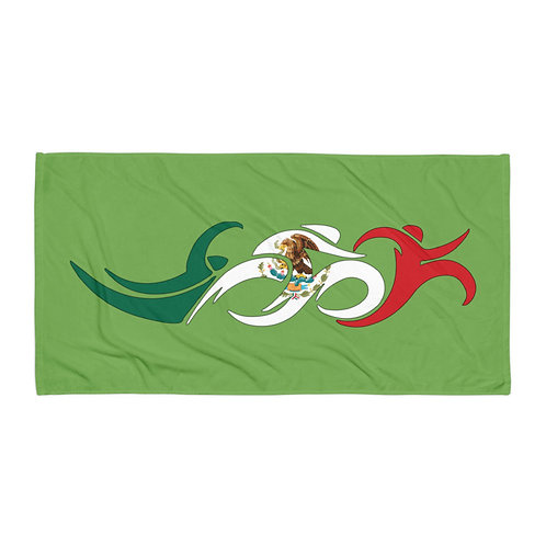Mexico Swim Bike Run Triathlon Beach Bath Transition Towel