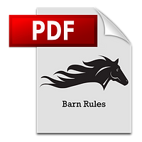 Las Vegas Horse Ranch | Barn Rules