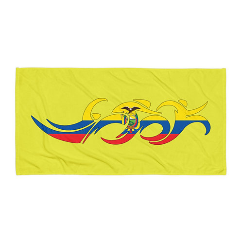Ecuador Swim Bike Run Triathlon Beach Bath Transition Towel