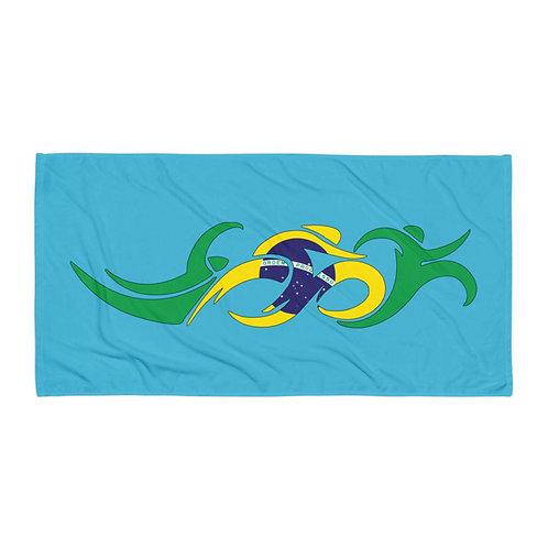 Brazil Swim Bike Run Triathlon Beach Bath Transition Towel