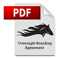 Las Vegas Horse Ranch | Overnight Boarding Form