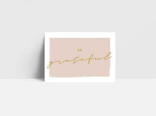 Gratitude Card Collection Box