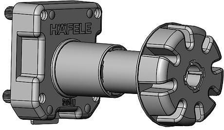 Hafele Smartleg assembly150mm.png