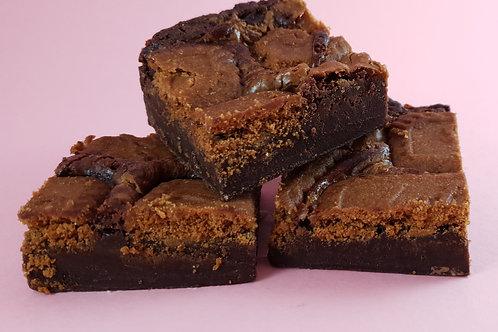 Biscoff Fudgy Brownies