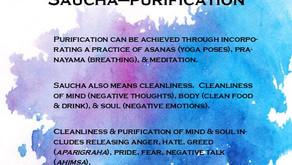 2.1. Niyama: Saucha  - Cleanliness