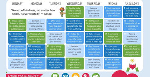 Action Calendar - Altruistic August