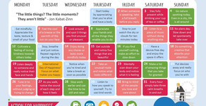 Action Calendar - Mindful March