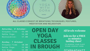 Open Day 2018 - 6th & 7th October