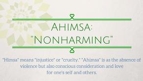 1.1 Yama: Ahimsa - Non harming