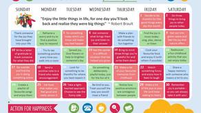Action Calendar - Joyful June