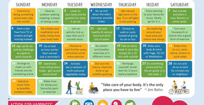Action Calendar - Active April
