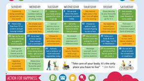 Action Calendar - Active April