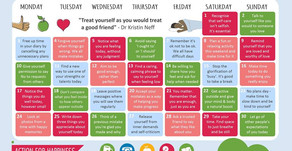Action Calendar - Self-care September