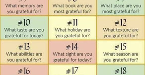 30 days of Gratitude in November