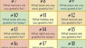 30 days of Gratitude in November