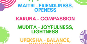 Yogic qualities to develop a calm mind