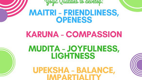 Yogic qualities to develop a calm mind