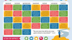 Action Calendar - Optimistic October