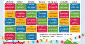 Action Calendar - Do good December