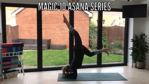 Magic 10 Asana series