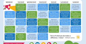 Action Calendar - Meaningful May