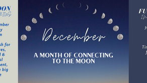A month of connecting to the Moon - December 2020